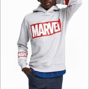 NWOT H&M Marvel Printed Pullover Hoodie /Size 4-6Y